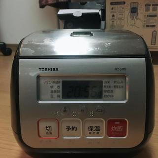 トウシバ(東芝)の東芝 炊飯器 3号  RC-5MS(炊飯器)