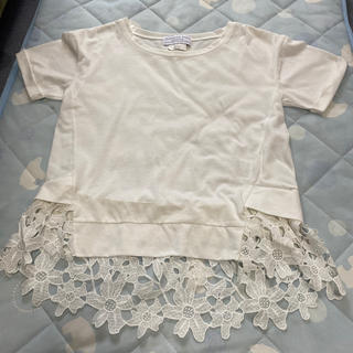 チャオパニックティピー(CIAOPANIC TYPY)のレースTシャツ(Tシャツ(半袖/袖なし))