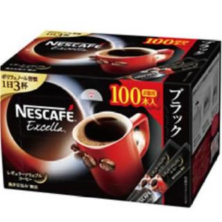 ネスレ(Nestle)のネスレ ネスカフェ エクセラ スティック 100本(コーヒー)