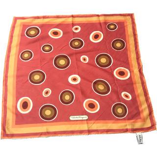 サルヴァトーレフェラガモ(Salvatore Ferragamo)のフェラガモ  シルクスカーフ(バンダナ/スカーフ)