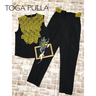 トーガ(TOGA)のTOGA PULLA ブラック レース セットアップ(セット/コーデ)