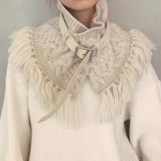 アメリヴィンテージ(Ameri VINTAGE)のAmeri cable knit shawl(マフラー/ショール)