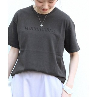 IENA - 新品 20SS IENA イエナ FORMIDABLE ロゴプリントTシャツ