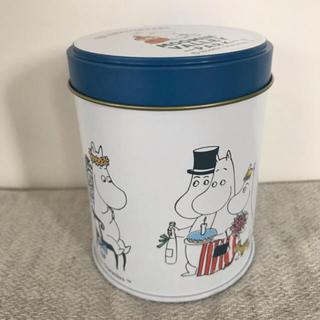 ムーミンバレーパーク  1周年 アニバーサリー缶 (キャラクターグッズ)