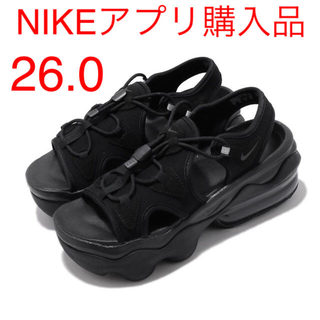 NIKE - ナイキ ウィメンズ エアマックス ココ サンダル ブラック 26.0cm