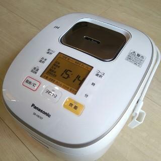 パナソニック(Panasonic)のパナソニック 5.5合炊き 5合 IHジャー炊飯器 SR-HB107-W(炊飯器)