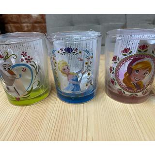 アナと雪の女王 フレグランスキャンドル グラス ☆新品未使用☆(キャンドル)