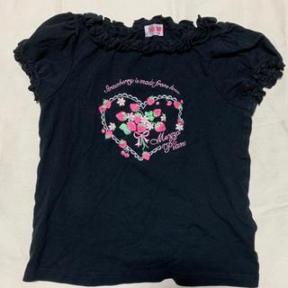 メゾピアノ(mezzo piano)のメゾピアノ Tシャツ 130cm(Tシャツ/カットソー)