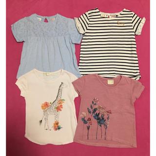 ザラキッズ(ZARA KIDS)の《まとめ売り》zara girls Tシャツ 4枚セット(Tシャツ/カットソー)