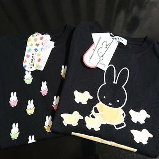 シマムラ(しまむら)の★しまコレ限定★ミッフィー Tシャツ ブラック 完売品(Tシャツ(半袖/袖なし))