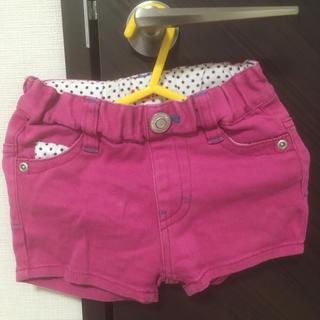 ALGY アルジー ショートパンツ 子供服ピンク85 90 95女の子女子幼児(パンツ/スパッツ)