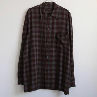 コモリ(COMOLI)のcomoli レーヨン シャツ サイズ1(シャツ)