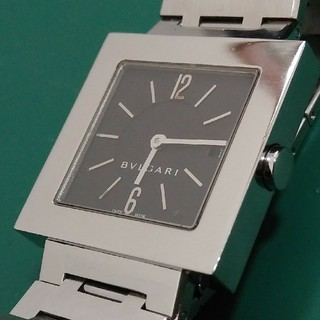ブルガリ(BVLGARI)のBVLGARI 腕時計 クアドラード sq27 レディース 正規稼働品!(腕時計)