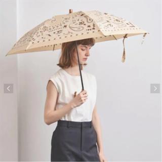ユナイテッドアローズ(UNITED ARROWS)の【manipuri】マニプリプリント 晴雨兼用 折りたたみ傘 未使用(傘)