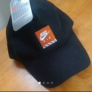 ナイキ(NIKE)の新品未使用 定価2300 キャップ ナイキ 黒 ブラック(帽子)