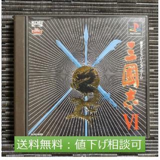プレイステーション(PlayStation)の【送料無料】[PS]三國志Ⅵ(家庭用ゲームソフト)
