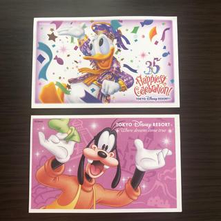 ディズニー(Disney)のディズニーパークチケット 使用済 35th 通常(遊園地/テーマパーク)