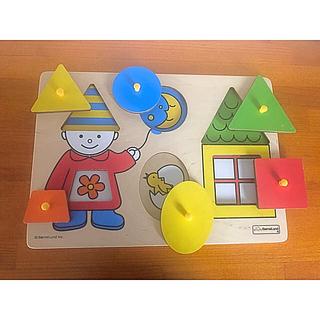 ボーネルンド(BorneLund)のボーネルンド  パズル 1歳(知育玩具)