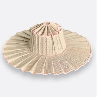 ビューティアンドユースユナイテッドアローズ(BEAUTY&YOUTH UNITED ARROWS)の新品未使用◆lorna murray capri hat adult S(麦わら帽子/ストローハット)