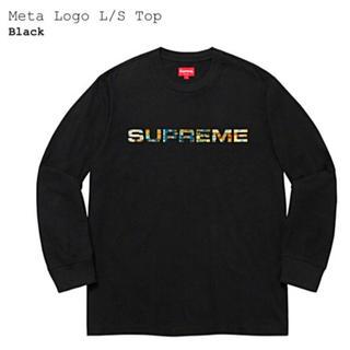 Supreme - Supreme 20ss META LOGO L/S TOP 黒 Lサイズ