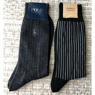 ポロラルフローレン(POLO RALPH LAUREN)のメンズ 靴下 2足セット ラルフローレン エディフィス(ソックス)