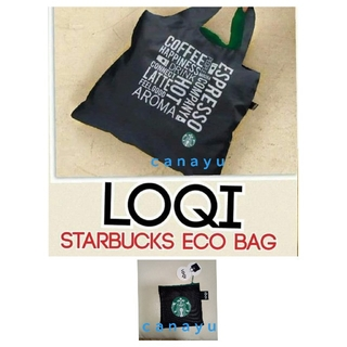 Starbucks Coffee - B②ラスト1:海外限定 日本未発売 スタバ サイレン LOQIのエコバッグ