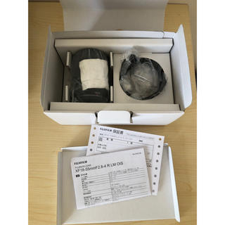 フジフイルム(富士フイルム)の新品未使用 FUJIFILM 富士フィルム XF18-55mm F2.8-4(レンズ(ズーム))