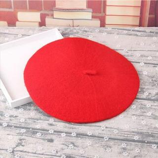 激かわベレー帽♡新品未使用!(ハンチング/ベレー帽)