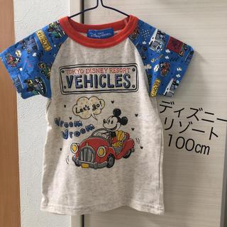 ディズニー(Disney)のディズニーリゾート100㎝(Tシャツ/カットソー)