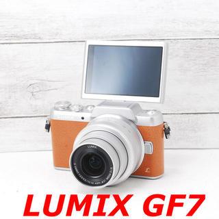 Panasonic - ❤️Wi-Fi搭載&自撮り❤️ブラウン❤️LUMIX GF7