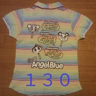 エンジェルブルー(angelblue)の130 ANGEL BLUE  半袖Tシャツ (Tシャツ/カットソー)