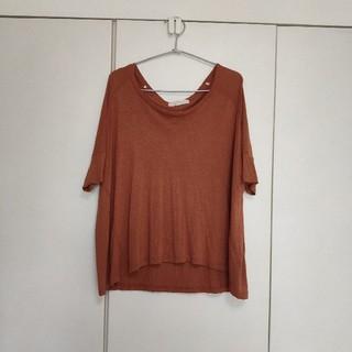 フォーエバートゥエンティーワン(FOREVER 21)のフォエバー21 Tシャツ レンガ色 (Tシャツ(半袖/袖なし))