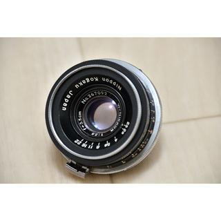 ニコン(Nikon)のNikon w-nikkor 3.5cm(35mm) F2.5 後期(フィルムカメラ)