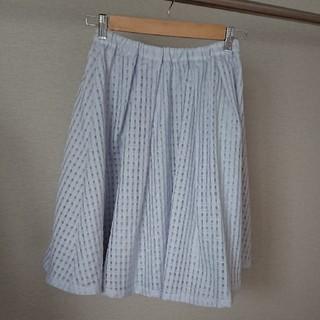 ミスティウーマン(mysty woman)のリバーシブルスカート(ひざ丈スカート)