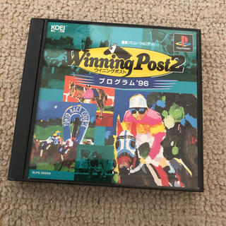 プレイステーション(PlayStation)のps ウイニングポスト2 プログラム96(家庭用ゲームソフト)