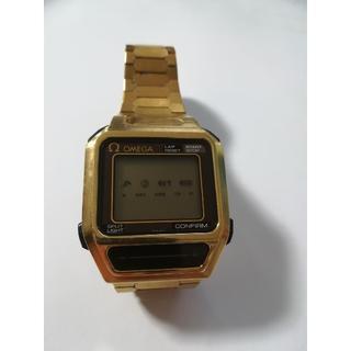 オメガ(OMEGA)のOMEGA オメガ センサー  クオーツ☆時計☆デジタル(腕時計(デジタル))