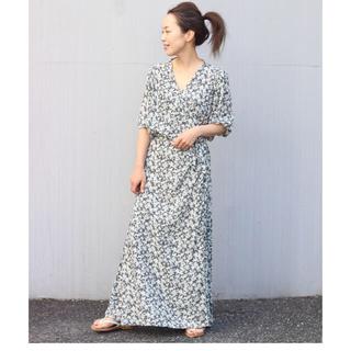 Plage - Plage olive wrap ドレス