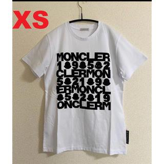モンクレール(MONCLER)の20SS【新品】 MONCLER モンクレール ロゴTシャツ XS(Tシャツ(半袖/袖なし))