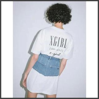 X-girl - xgirl tシャツドレス