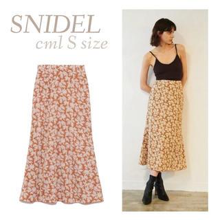 snidel - バリエーションプリントロングスカート SNIDEL スナイデル ロングスカート