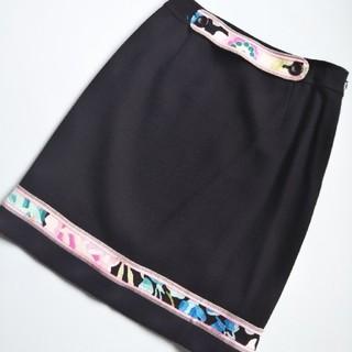 レオナール(LEONARD)の美品 レオナール スカート(ひざ丈スカート)