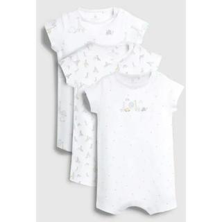 ネクスト(NEXT)のネクスト 新生児 ファーストサイズ 半袖 3Pセット(ロンパース)