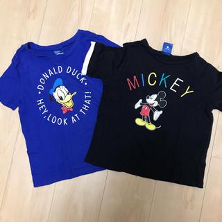 ディズニー(Disney)のミッキー.ドナルドTシャツset(Tシャツ/カットソー)