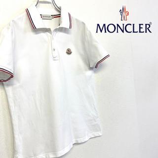 モンクレール(MONCLER)の美品 MONCLER ワッペンロゴ ポロシャツ (ポロシャツ)