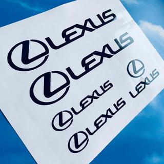 レクサス LEXUS ロゴ ステッカー(ステッカー)