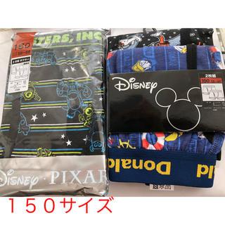 ディズニー(Disney)のディズニー ボクサーパンツ❣️新品4枚❣️150サイズ❣️(下着)