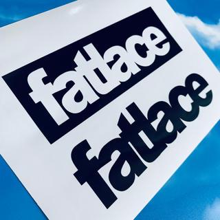 fatlace ファットレース ロゴ ステッカー(ステッカー)