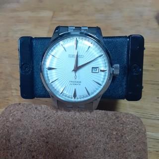 セイコー(SEIKO)のSEIKO Presage ホワイト クラシカル カクテルダイヤル(腕時計(アナログ))