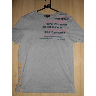 エムケーミッシェルクラン(MK MICHEL KLEIN)のmichel klein メンズTシャツ ミッシェルクランオム グレー(Tシャツ/カットソー(半袖/袖なし))