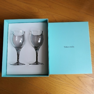 Tiffany & Co. - 【新品未使用】TIFFANY ティファニー スイングワイン グラス 2点箱入